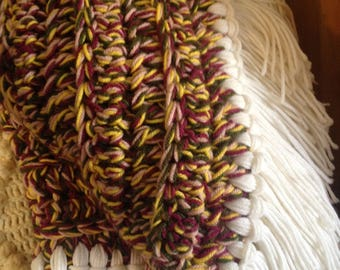 Hand crafted afghans.  One of a kind.  Crocheted with 4 strands of yarn per stitch for added warmth and luxury.