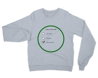 California Fleece Raglan Sweatshirt (espresso Yourself)