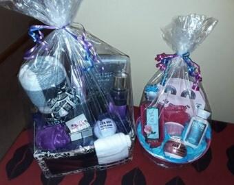Victorias secret bath and body works gift basket bundle