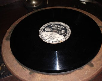 """1925 Edison Record Titina Fox Trot from """"Puzzles of 1925"""""""