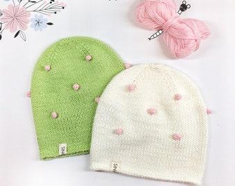 Сhildren's spring beanie hat