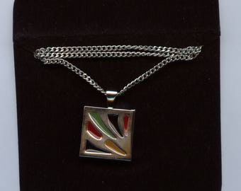"""Sarah Coventry """"Danish Abstract"""" Necklace. 1970's"""