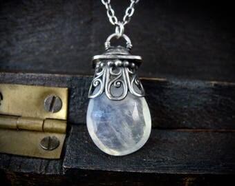 pendulum ... moonstone pendant