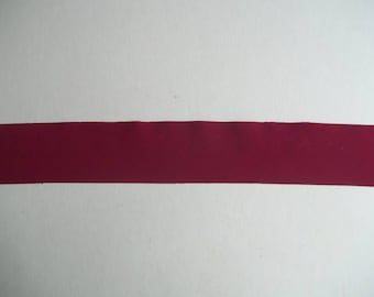 Nylon Lycra Spandex BINDING 1-1/2 in. Cranberry RED 5 yds Tape Straight Cut TAPE
