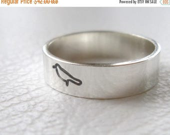 ON SALE TODAY Silver Bird Ring, Sparrow Jewelry
