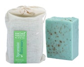 Spearmint and Rosemary Shea Butter Soap -  All Natural Handmade Soap - Vegan and Cruelty Free - Sustainable Palm