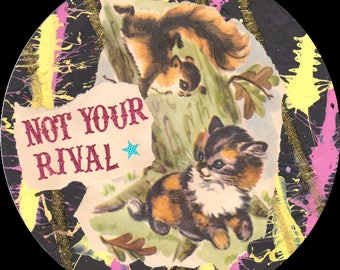 Not Your Rival CAT COLLAGE