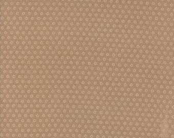 Hazel and Plum - Posies in Harvest Tan: sku 20294-13 cotton quilting fabric by Fig Tree and Co. for Moda Fabrics