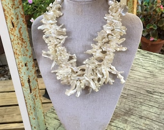 Snow Queen Shell Necklace