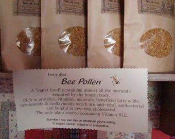 Bee Pollen from wildflowers