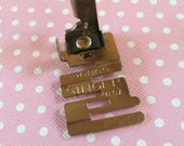 1/2 off Blowout Sale Vintage Singer Simanco edge stitch foot fits low shank machines including Featherweight. #36865