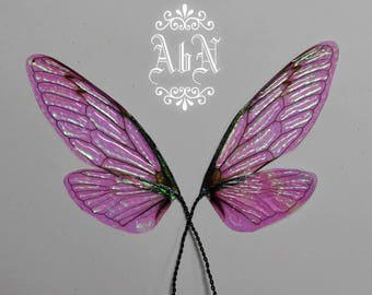 Fairy Wings - Iridescent Cicada wings CIL -  For OOAK Art Dolls