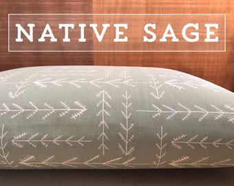 Dog Bed Cover, NEW Native Sage Cover, Dog Bed Duvet, Pet Bed Cover, Cat Bed Cover, Small to XL Covers for Dog Beds