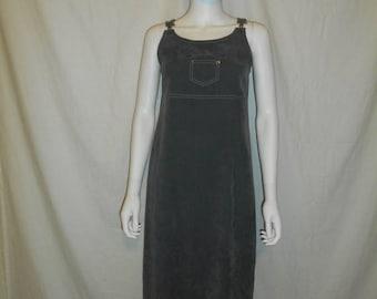 Closing shop SALE 40% off 90s long pocket hardware dress