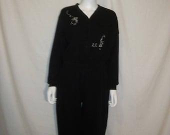 Closing Shop 40%off SALE Tweety Bird Jumpsuit, 90s 1996 Warner Bros pantsuit    size Medium