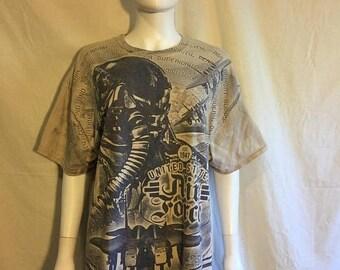 Closing Shop 40%off SALE Air Force t shirt     US Military t shirt screen print t shirt