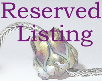 RESERVED LISTING for Faye