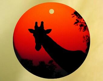 Giraffe Silhouette Air Freshener