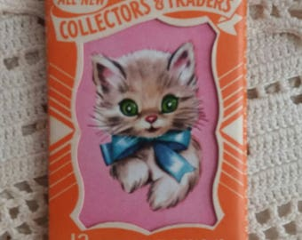 One Vintage Collectors Traders Cards..Puppy Dog