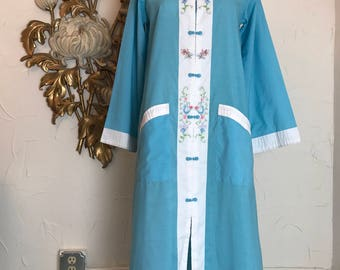1960s loungewear vintage dressing gown asian pajamas vintage pjs chinese pajamas vintage loungewear 1960s robe