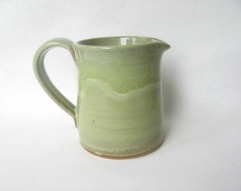 Pottery Pitcher 2 Cup, Pottery Jug, Stoneware Pitcher, Handmade Pitcher, Ceramic Pitcher 2 Cup