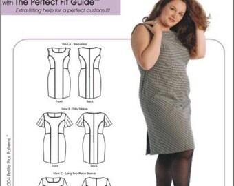 Petite Plus 303 / 3247 All Season Dress, Size 14, 16, 18, 20, 22, 24 - 2004 Sewing Pattern UNCUT