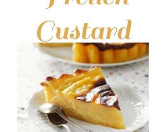 July FOTM Melter Tart - French Custard