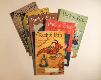 Pak-O-Fun Craft Magazine Vintage #4