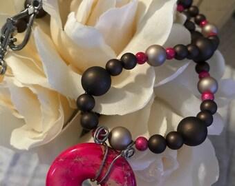 Chocolate Cherry Necklace