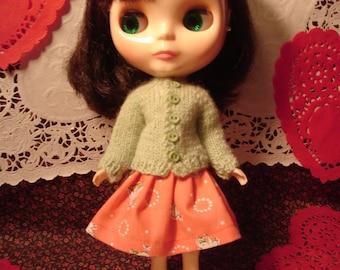 Blythe Peachy Chicken Skirt for Pullip Too!