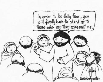 Who Represents Jesus? CARTOON