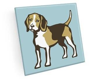 Set of 4 Beagle Coasters