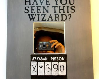 Mirror azkaban/potterhead/new home gift/entryway decor/bedroom/bathroom/birthday gift/wall decor/housewarming gift/wedding gift/Sirius Black