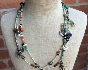 Long and Memorable Necklace - Decades of Treasures