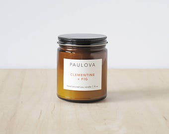 CLEMENTINE + FIG candle : SALE