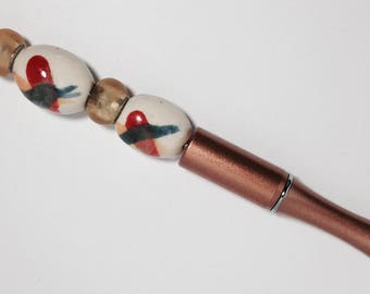 Jeweled Pens, Copper
