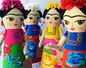 Frida Art doll