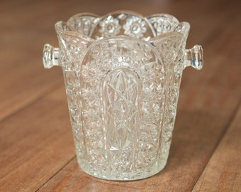 Small vintage French ice bucket