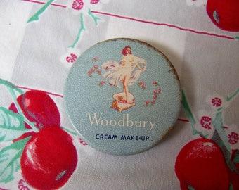 woodbury cream makeup container