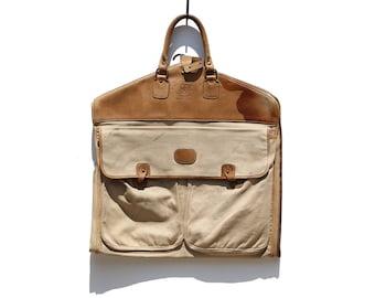 Vintage GHURKA Marley Hodgson Leather Garment Travel Bag No. 12