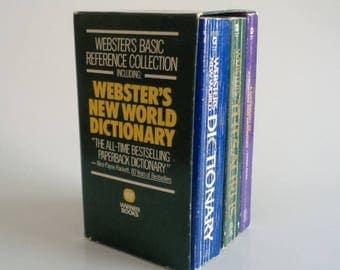 Webster's Basic Reference Collection Paperback 1987