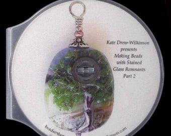 OnSale Instructional DVD Making Beads With Stained Glass Remnants By Kate Drew-Wilkinson Pt 2