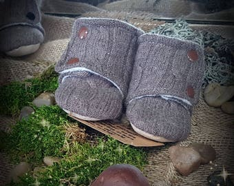 Wool soft sole Boots