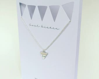 Soul Sister Simple Gestures Necklace and Greeting Card