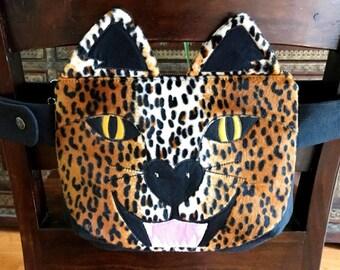 Leopard Fanny Pack- Animal Fanny Pack- Bum Bag- Hip Bag