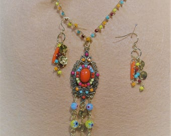 Boho Collection Exotic Flower