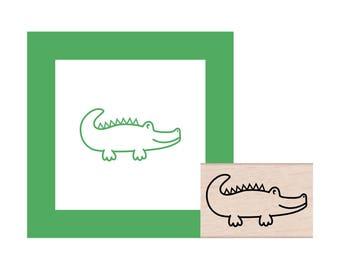 Alligator Rubber Stamp