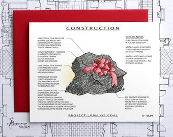 Project Lump of Coal Construction - Instant Download Printable Art - Construction Series