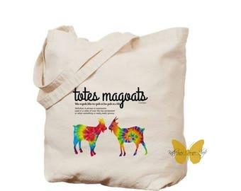 Totes Magoats Funny Tote Bag