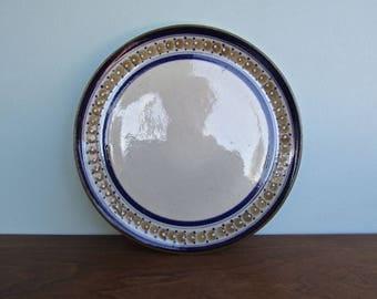 Ken Edwards Erandi Tonala Dinner Plate, Traditional Mid Century Mexican Studio Arts